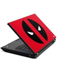 Deadpool Logo Red Lenovo T420 Skin
