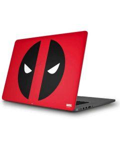 Deadpool Logo Red Apple MacBook Pro Skin
