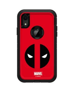 Deadpool Logo Red Otterbox Defender iPhone Skin
