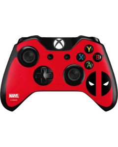 Deadpool Logo Red Xbox One Controller Skin