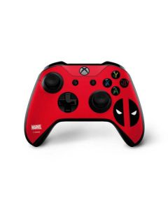 Deadpool Logo Red Xbox One X Controller Skin