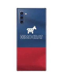 Democrat Patriotic Galaxy Note 10 Skin