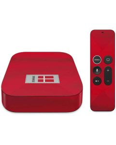 Denmark Soccer Flag Apple TV Skin