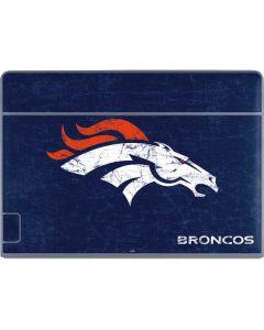 Denver Broncos - Distressed Galaxy Book Keyboard Folio 12in Skin