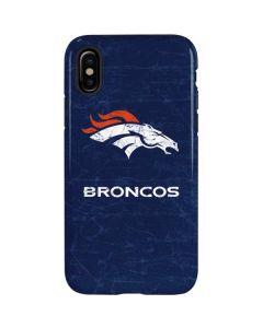 Denver Broncos - Distressed iPhone XS Pro Case