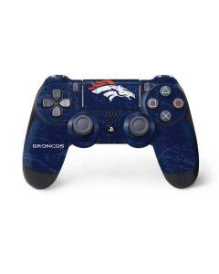 Denver Broncos - Distressed PS4 Controller Skin