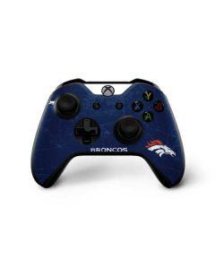 Denver Broncos - Distressed Xbox One X Controller Skin