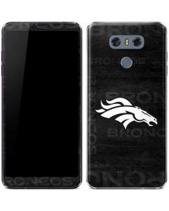 Denver Broncos Black & White LG G6 Skin
