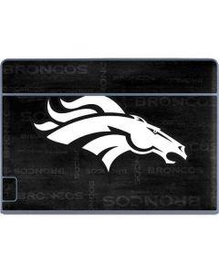 Denver Broncos Black & White Galaxy Book Keyboard Folio 12in Skin