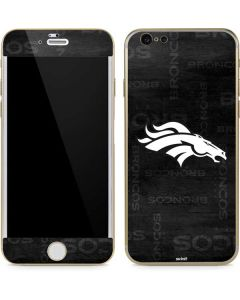 Denver Broncos Black & White iPhone 6/6s Skin