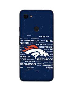 Denver Broncos Blue Blast Google Pixel 3a Skin