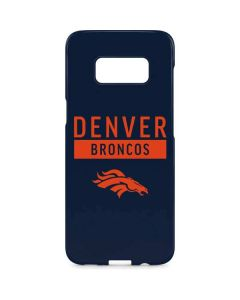 Denver Broncos Blue Performance Series Galaxy S8 Plus Lite Case