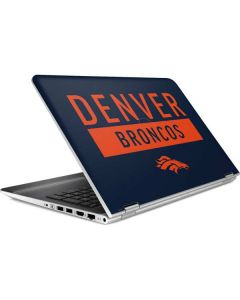 Denver Broncos Blue Performance Series HP Pavilion Skin