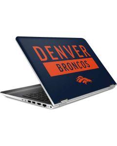 Denver Broncos Blue Performance Series HP Pavilion Skin