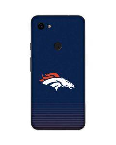 Denver Broncos Breakaway Google Pixel 3a Skin