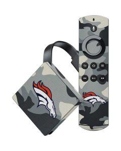 Denver Broncos Camo Amazon Fire TV Skin