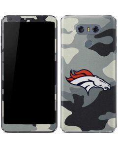 Denver Broncos Camo LG G6 Skin
