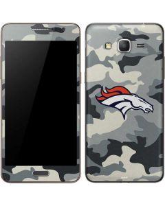 Denver Broncos Camo Galaxy Grand Prime Skin