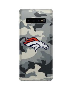 Denver Broncos Camo Galaxy S10 Plus Skin