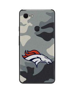 Denver Broncos Camo Google Pixel 3 XL Skin