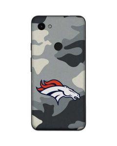 Denver Broncos Camo Google Pixel 3a Skin