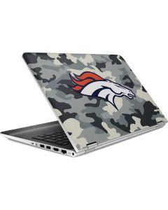 Denver Broncos Camo HP Pavilion Skin