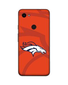 Denver Broncos Double Vision Google Pixel 3a Skin