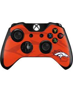 Denver Broncos Double Vision Xbox One Controller Skin