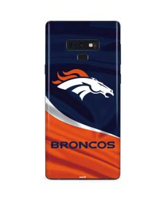 Denver Broncos Galaxy Note 9 Skin