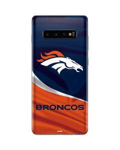 Denver Broncos Galaxy S10 Plus Skin