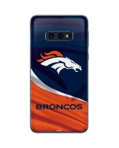 Denver Broncos Galaxy S10e Skin