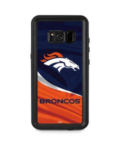 Denver Broncos Galaxy S8 Plus Waterproof Case
