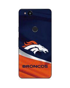 Denver Broncos Google Pixel 2 Skin