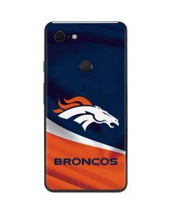 Denver Broncos Google Pixel 3 XL Skin