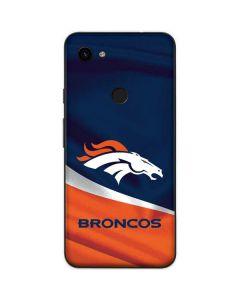Denver Broncos Google Pixel 3a Skin
