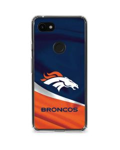 Denver Broncos Google Pixel 3a XL Clear Case