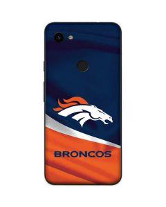 Denver Broncos Google Pixel 3a XL Skin