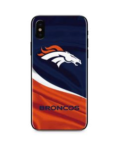 Denver Broncos iPhone XS Max Skin