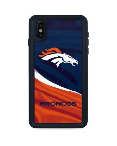 Denver Broncos iPhone XS Max Waterproof Case