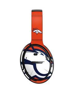 Denver Broncos Large Logo Bose QuietComfort 35 II Headphones Skin