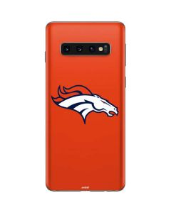 Denver Broncos Large Logo Galaxy S10 Skin