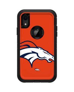 Denver Broncos Large Logo Otterbox Defender iPhone Skin