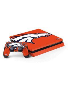 Denver Broncos Large Logo PS4 Slim Bundle Skin
