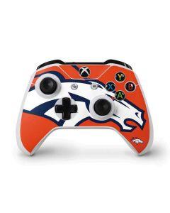 Denver Broncos Large Logo Xbox One S Controller Skin