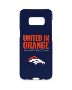 Denver Broncos Team Motto Galaxy S8 Plus Lite Case