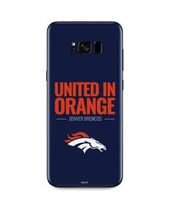 Denver Broncos Team Motto Galaxy S8 Skin