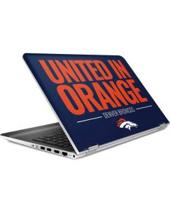 Denver Broncos Team Motto HP Pavilion Skin