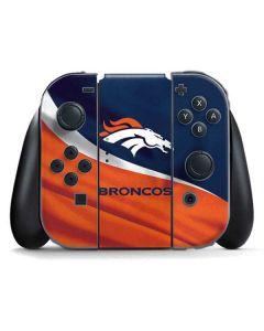 Denver Broncos Nintendo Switch Joy Con Controller Skin