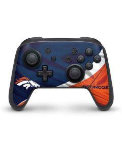 Denver Broncos Nintendo Switch Pro Controller Skin
