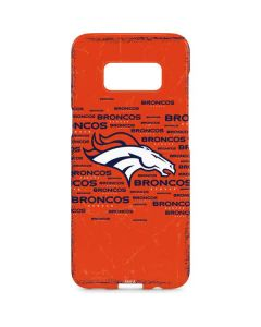 Denver Broncos Orange Blast Galaxy S8 Plus Lite Case